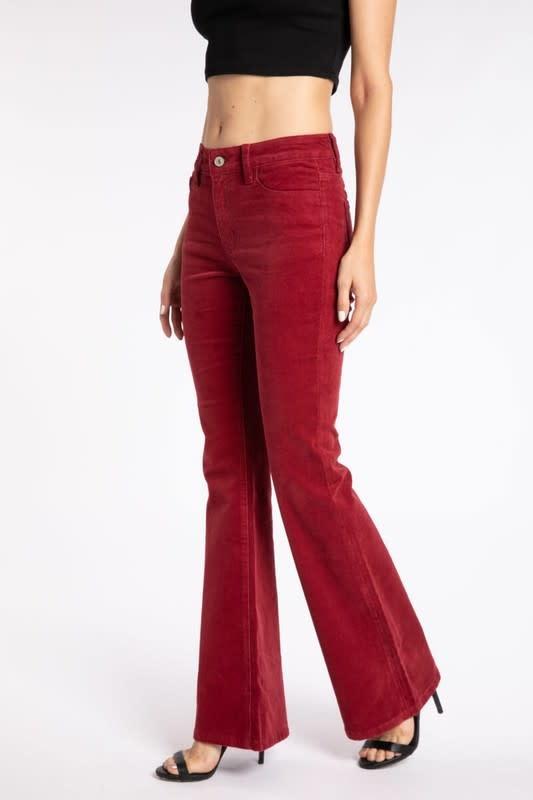 KanCan High Rise Skinny Flare Jeans