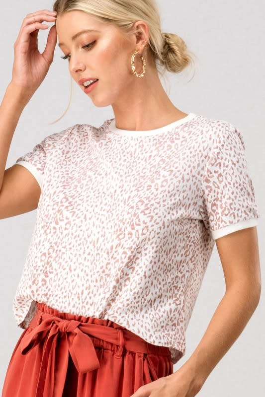 Trend:Notes Leopard Tee
