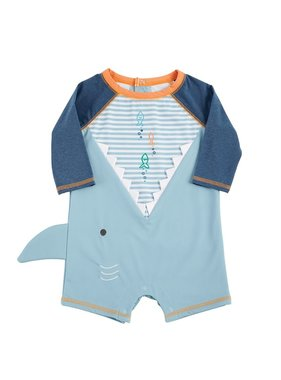 Mud Pie Shark One Pc. Rash Guard - 11020034