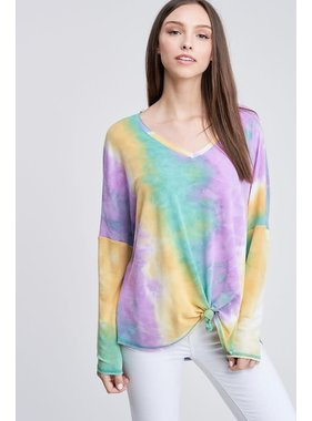 White Birch LA Tie Dye Top