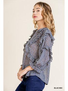 Umgee Mini floral top