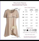 Mountain Mamas Asymmetrical tunic by Mountain Mamas