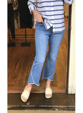 French Dressing Pull on crop pant