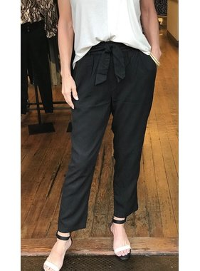 Tribal Paper bag pant with self tie