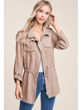 Staccato Drawstring waist jacket