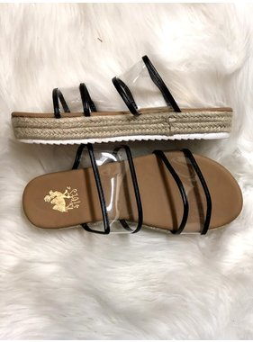 Camel Threads Cosmo sandal