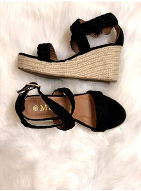 Fashion Chic Espadrille wedge