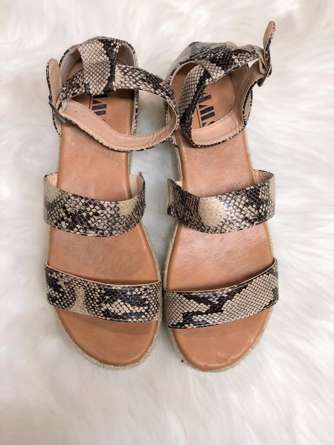 Rad Fashion Emma espadrille platform sandal