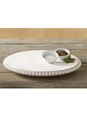 Mud Pie Beaded lazy susan