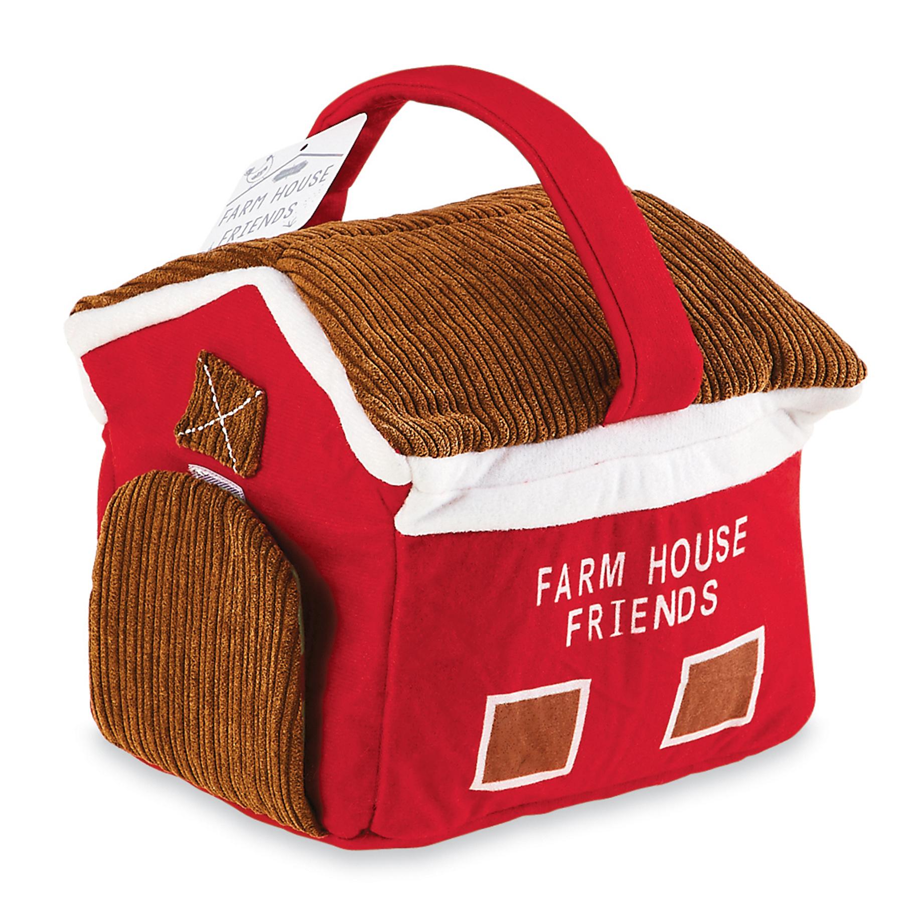 Mud Pie Farm House Plush Set