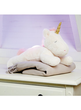 Mud Pie Light Up Plush Unicorn