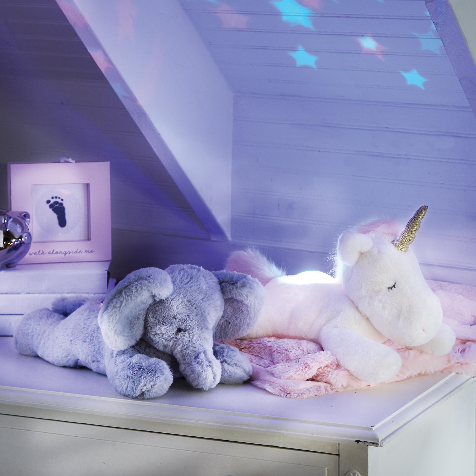 Mud Pie Light Up Plush Unicorn