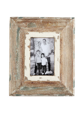 Mud Pie Weathered barn wood frame 4x6