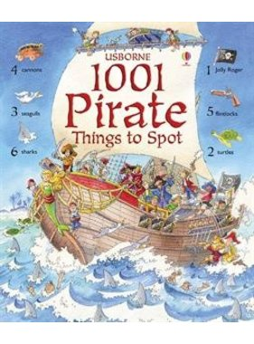 Usborne Books 1001 Pirate Things To Spot