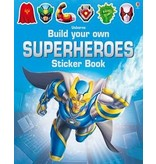 Usborne Books Build Your Own Superheroes Sticker Book