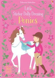 Usborne Books Little Sticker Dolly Dressing - Ponies