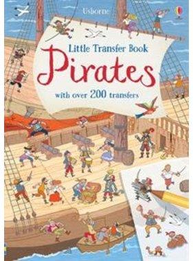 Usborne Books Little Transfer Book - Pirates