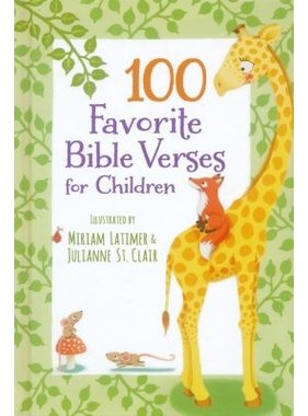 Harper Collins 100 Favorite Bible Verses for Children