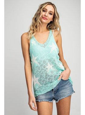 eesome usa Star knit tank