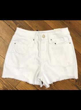 YMI Jeanswear Dream 1 button high rise shorts