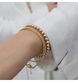 Katie Waltman 5 MM Gold Filled Round Bracelet