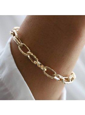 Katie Waltman Thick Textured Chain Bracelet