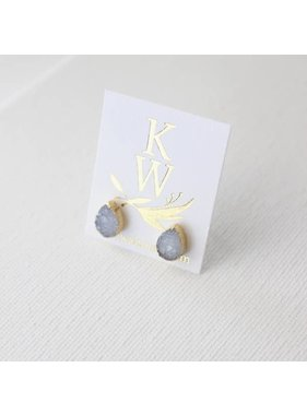 Katie Waltman Natural Studs earrings