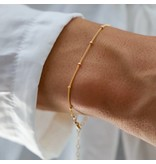 Katie Waltman Petite Gold Filled Ball Chain Bracelet