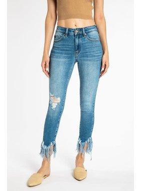 KanCan Gemma Mid Rise Ankle Skinny