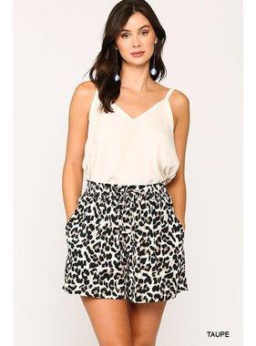 Gigio Leopard printed shorts