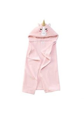 Mud Pie unicorn baby hooded towel