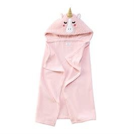 Mud Pie unicorn baby hooded towel