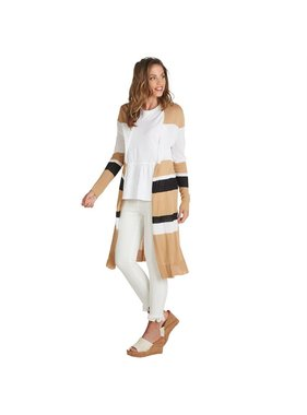 Mud Pie Beau Striped Duster