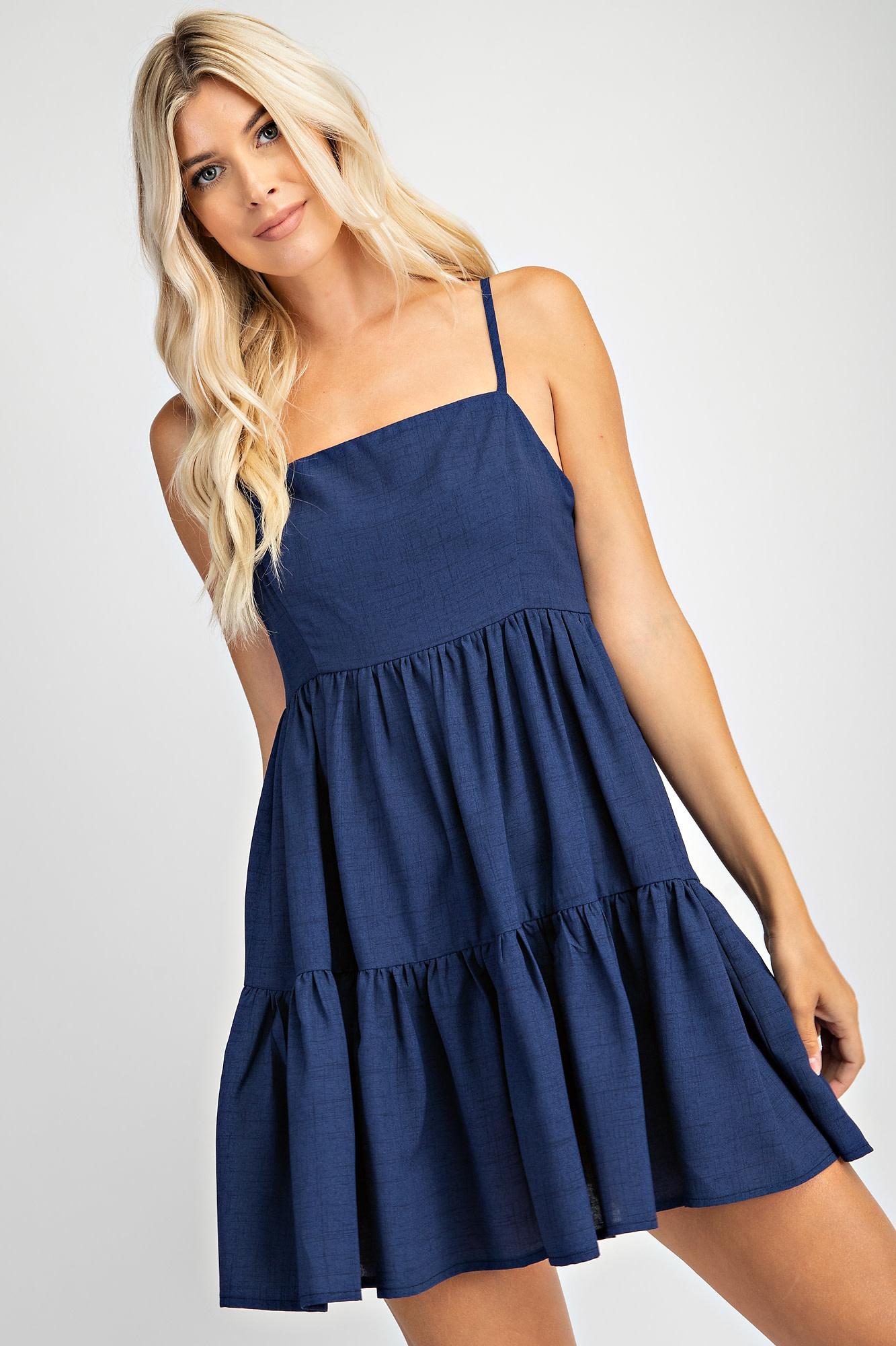 Glam Tiered Dress