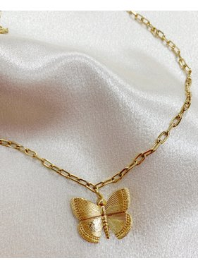 Bracha N888 Pure Spirit Butterfly Necklace