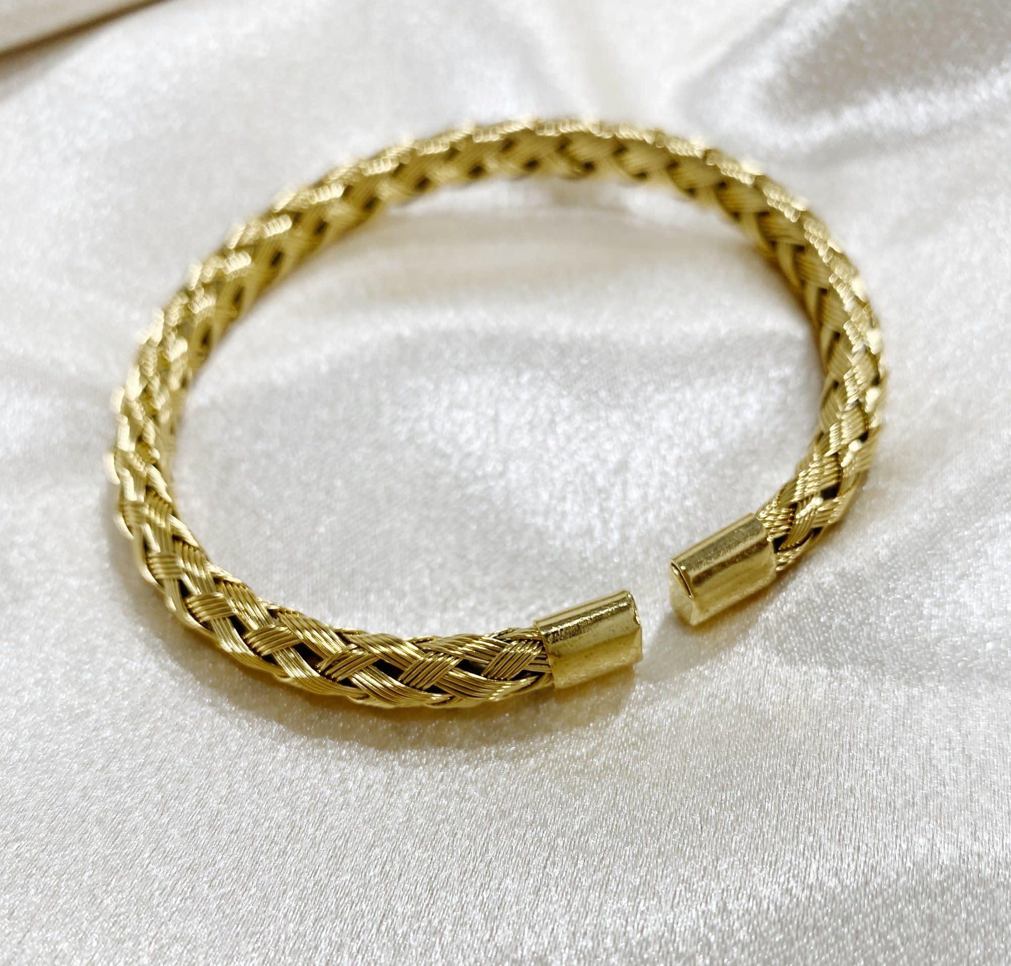 Bracha Lana Twist Rope Cuff