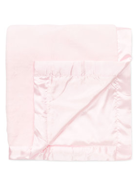Little Me Pink Stroller blanket