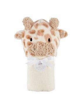 Mud Pie Giraffe Baby Hooded Towel