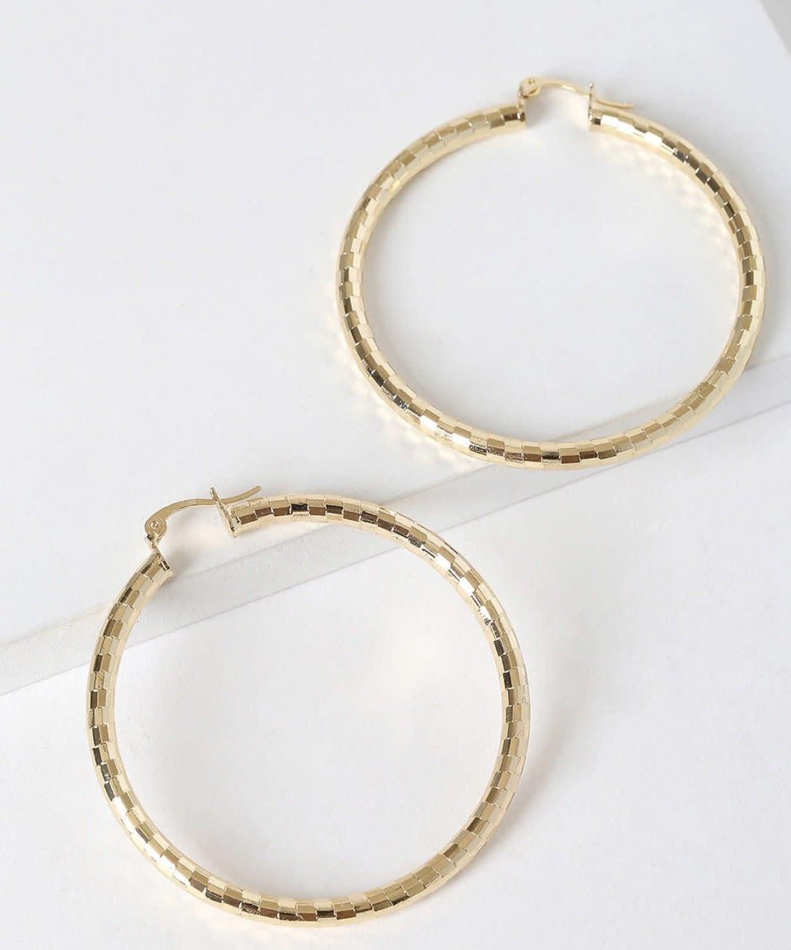 Bracha Miranda Large hoops