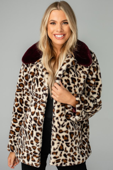 Buddy Love Wholesale Mariah Faux Fur Coat
