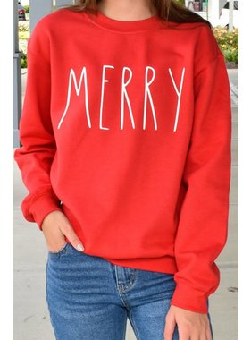 Glittering South Merry Sweatshirt