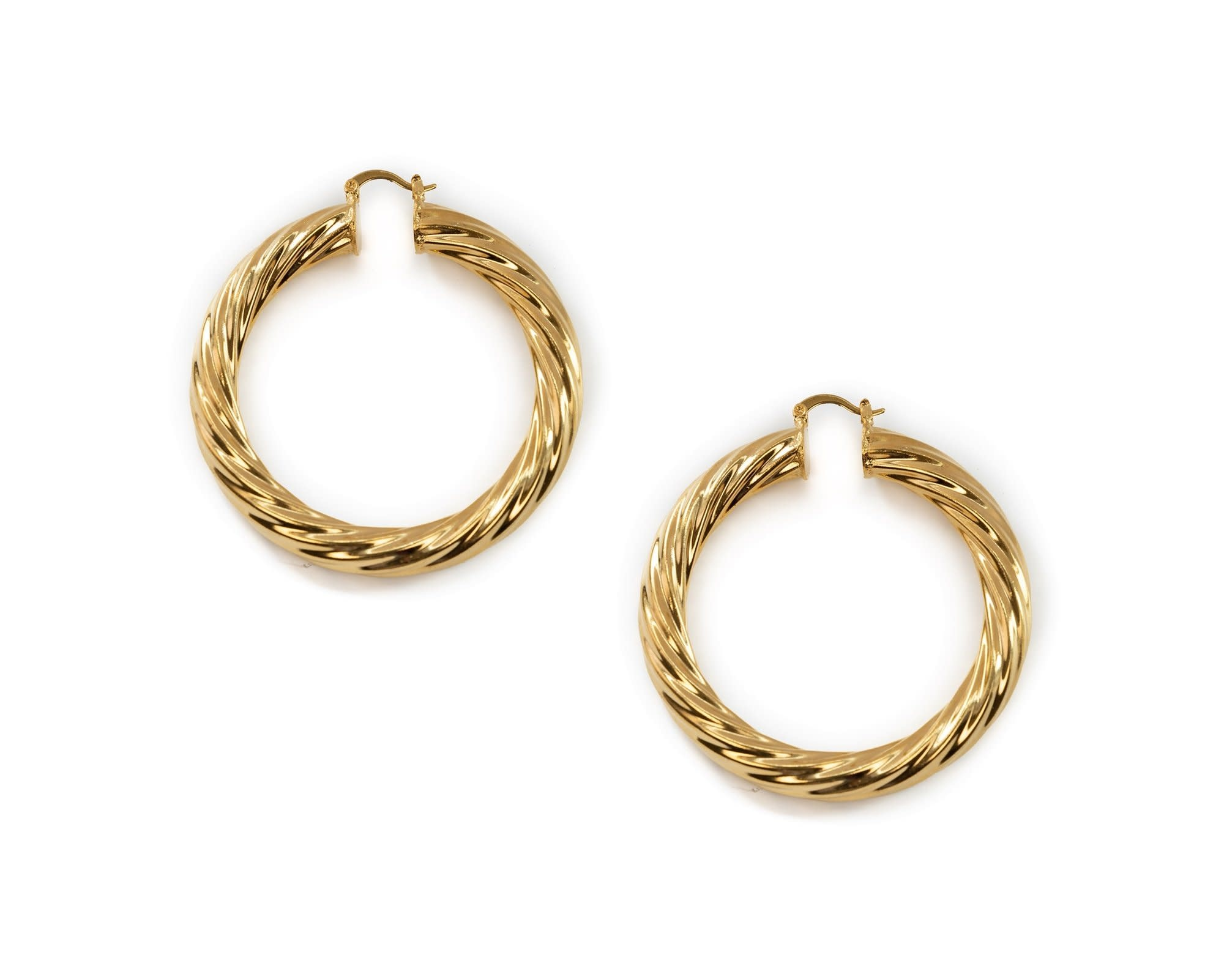 Bracha Milan Large Hoops