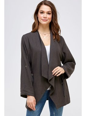 Allie Rose Linen Jacket