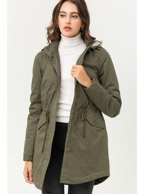 Trend Shop Hooded parka jacket