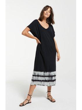 Z Supply Eden Stripe Tie-Dye Dress