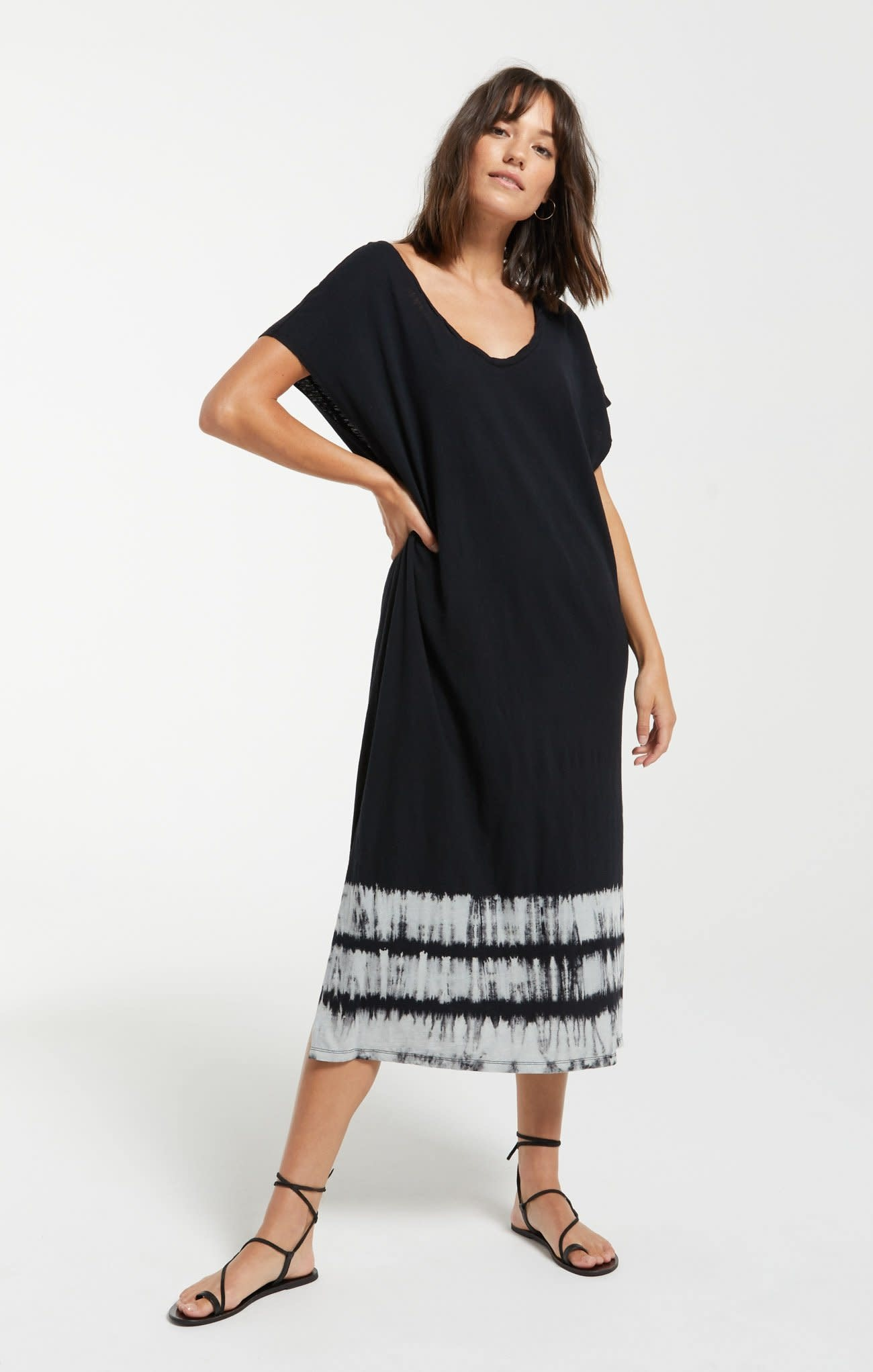 Z Supply Eden Stripe Tie-Dye Dress