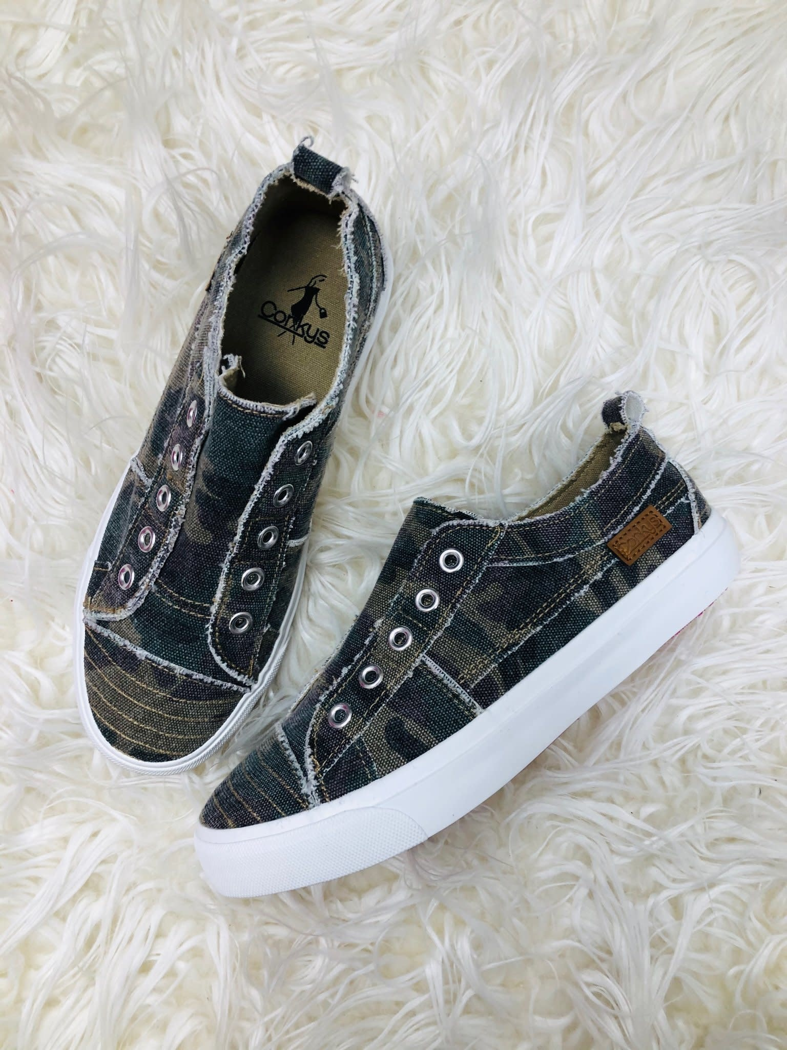 Corkys Camo Babalu Sneaker