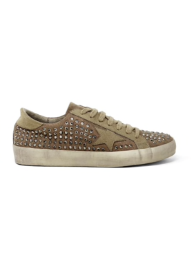 Shu Shop Rock Star Taupe Sneakers