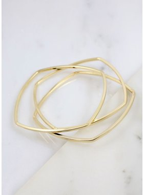 Caroline Hill Moskowitz set of three bangles