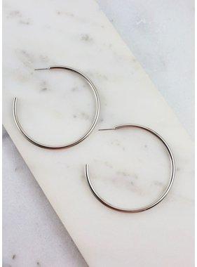 Caroline Hill Torrez Shiny Hoop earring